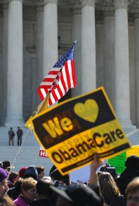 Affordable Care Act Rally at the SCOTUS