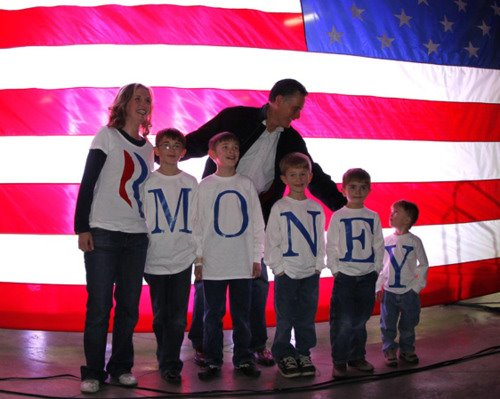 R-Money: Photoshopping Romney's Message